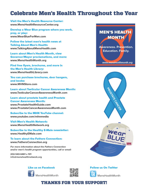 Men's Health Month Flyer (Orders of 500+)