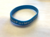 Wristbands - Wear Blue For Men's Health (Orders of 500+)