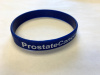 Wristbands - ProstateCancerAwareness.com   GetItChecked.com  - White Writing (Orders of 500+)